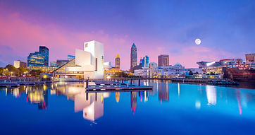 Downtown Cleveland skyline from the lakefront in Ohio USA.jpg