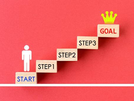 目標達成のコツとは?ここが一番重要です!