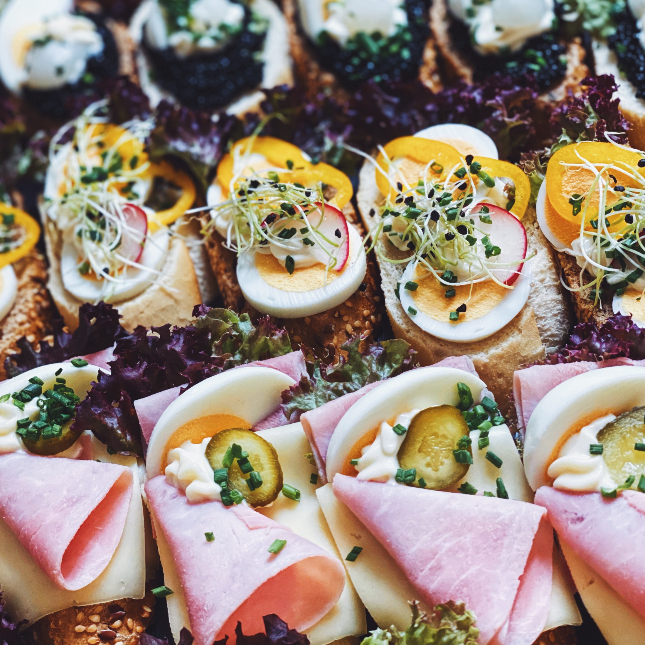 Catering-Colosseum-Brötchen-Mix