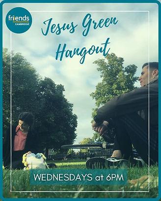 Friends International activity on Jesus Green