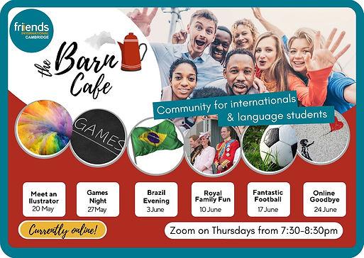 Barn flyer May - June 2021 social media