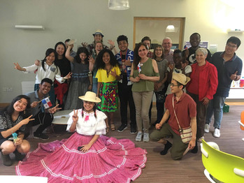 cultural night at iCafe