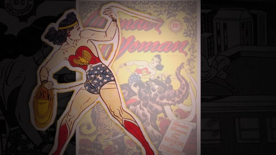 Wonder Woman Covers Animation