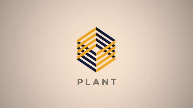 Plant Construction Logo Animation