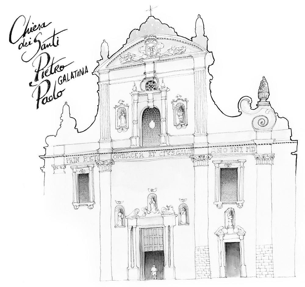 Blog Travel Italy marcellooo.fr Apulia Salento Galatina Drawing Jdan
