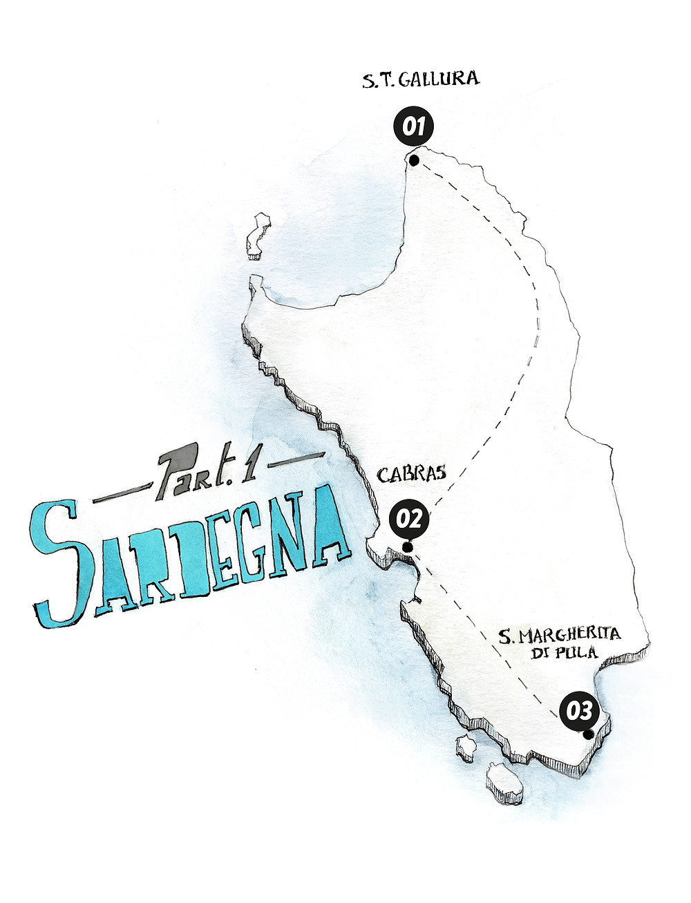 Marcellooo! Itinerario Sardegna Blog viaggi, Gallura, Cabras, Sinis, Chia, Tuerredda