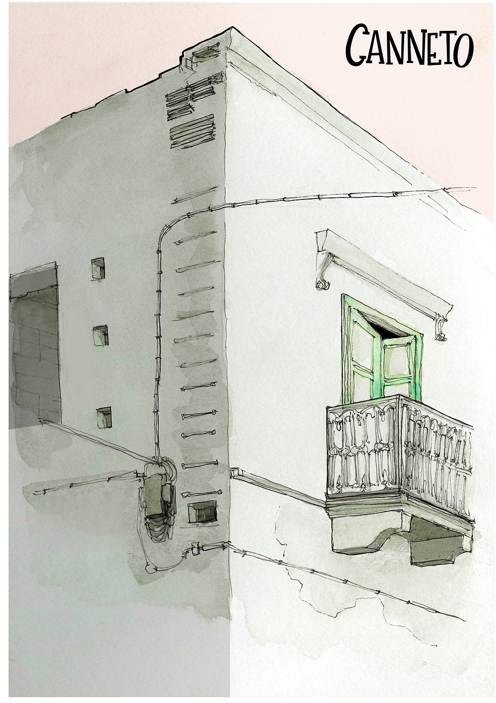 Lipari Canneto Aeolian Islands Blog Marcellooo Sicily Italy Drawing Skecth Jdan