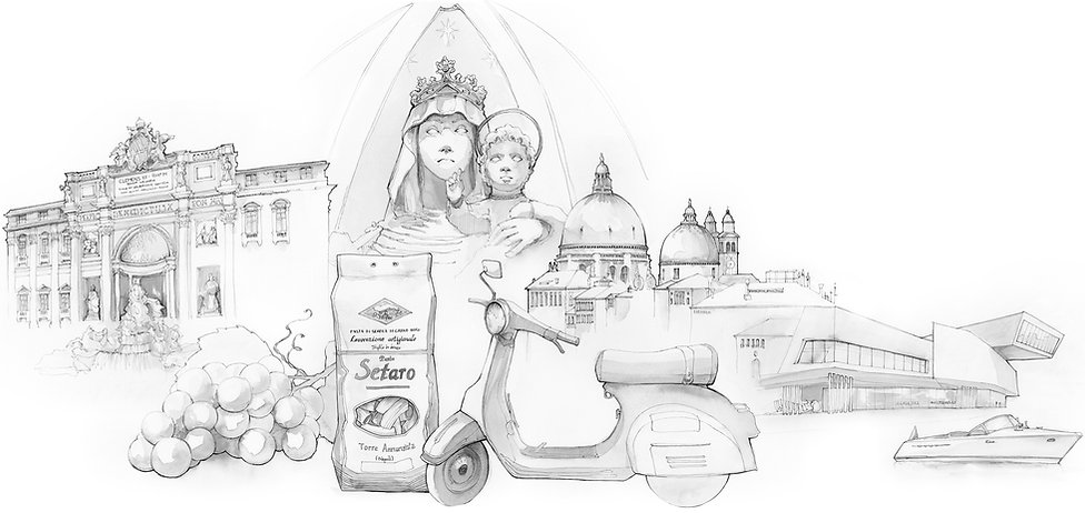 Voyage Italie Marcellooo.fr Illustration Jdan