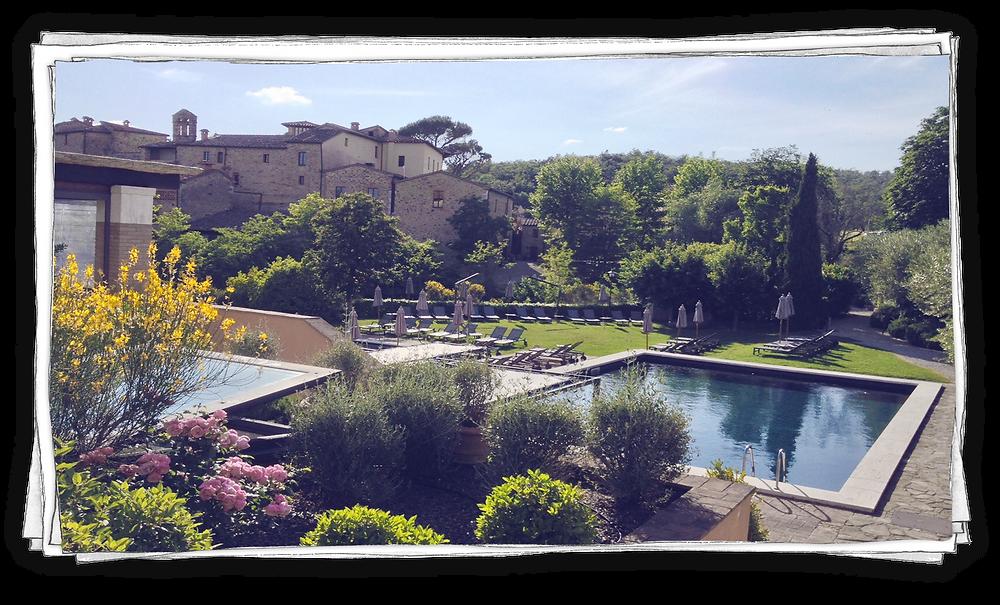 Blog voyage Italie Marcellooo.fr Toscane Castel Monastero
