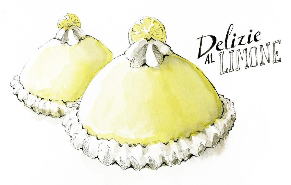 Blog Viaggi Italia Marcellooo.fr Illustrazione Delizie al limone Amalfi Pansa