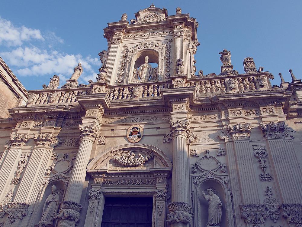 Blog Voyage Italie Marcellooo.fr Pouilles Salento Lecce Duomo