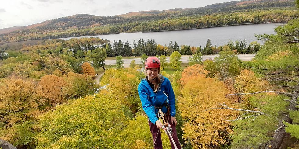 Transition escalade extérieure Québec