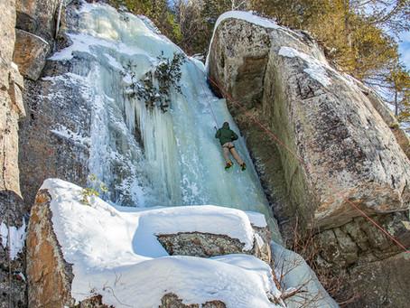 Site d'escalade de Trois-Rives   Escalade de glace