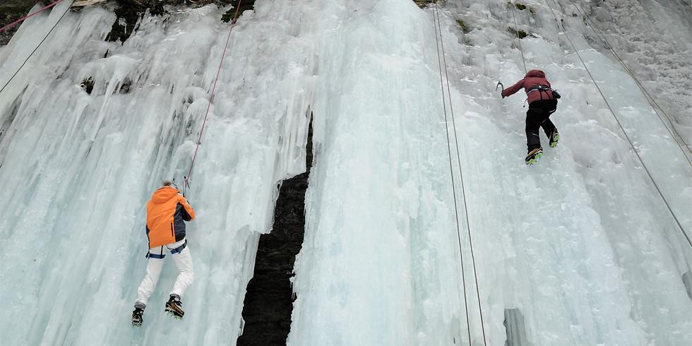 Journée d'escalade de glace