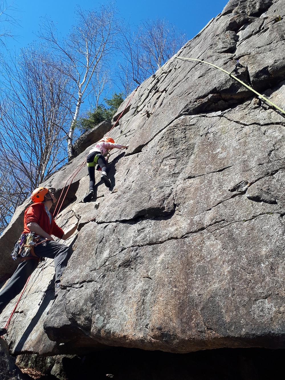 Escalade falaise du Mont Wright | Passion Escalade | Québec