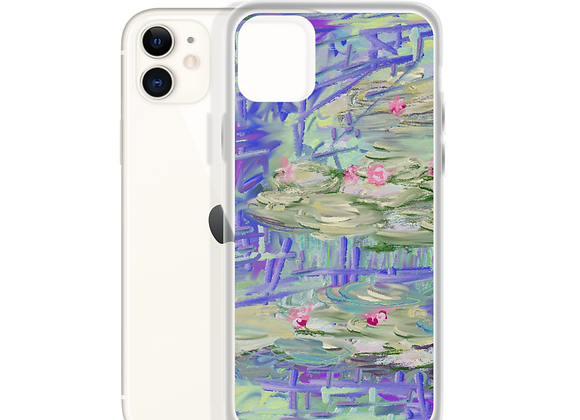 """""""Water Lily"""" 00.7 iPhone Case"""