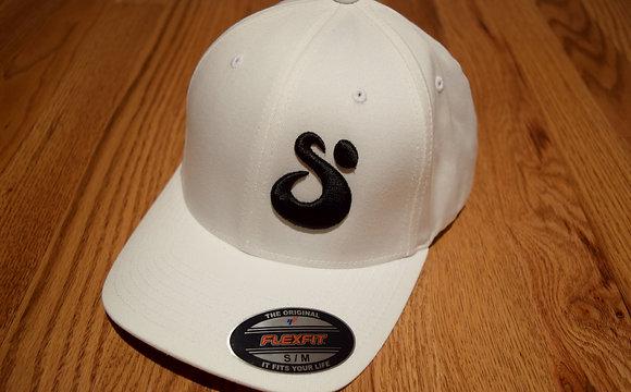 SUNRISE 3D Collectio in Flexfit White/Black