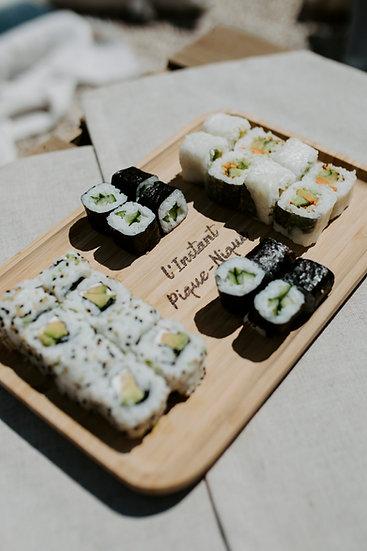Planche de Sushis végétariens 24 pièces