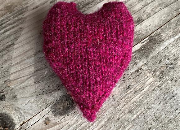 #feblovesfibre knitted heart pattern PDF DOWNLOAD