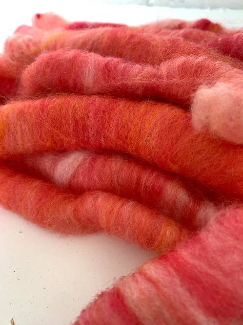 Shetland Wool Rolags