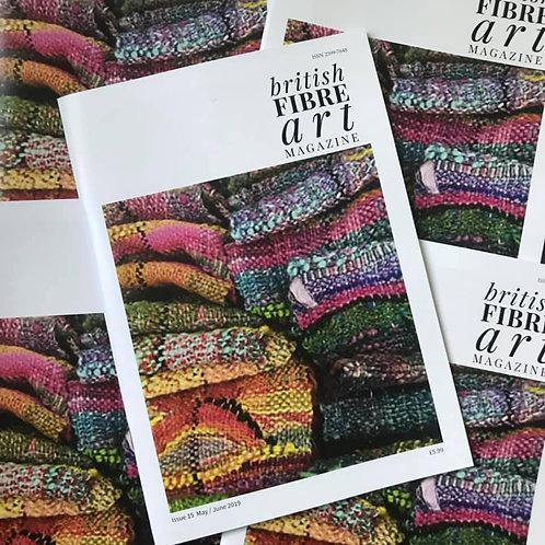 May / June 2019 British Fibre Art Magazine Digital