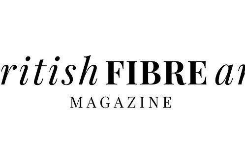 Sept / Oct 2018 British Fibre Art Magazine Digital Issue 11