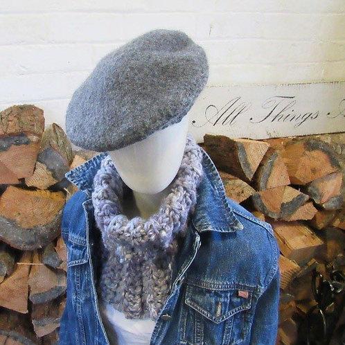 Chunky Crochet Neck Warmer pattern PDF Download
