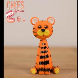Tiger Cake Topper