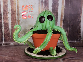 Monster Cactus Cake