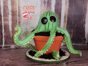 Monster Cactus Cake