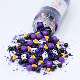 Dark Halloween Sprinkle Mix