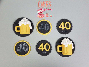 beer and age cupcake toppers