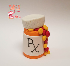 Pill Bottle Topper