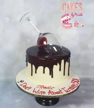 Spilled Wine Cake