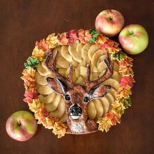Deer Apple Pie