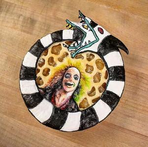 Beetlejuice Mini Pie