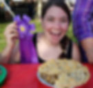 Krisi Caccippio and Best Looking Pie from Oneida Big Apple Fest
