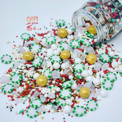 Green Peppermint Sprinkle Mix