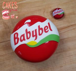 Babybel Cheese cake
