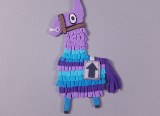 Fortnite Llama Cake Topper Tutorial + A Tool You NEED