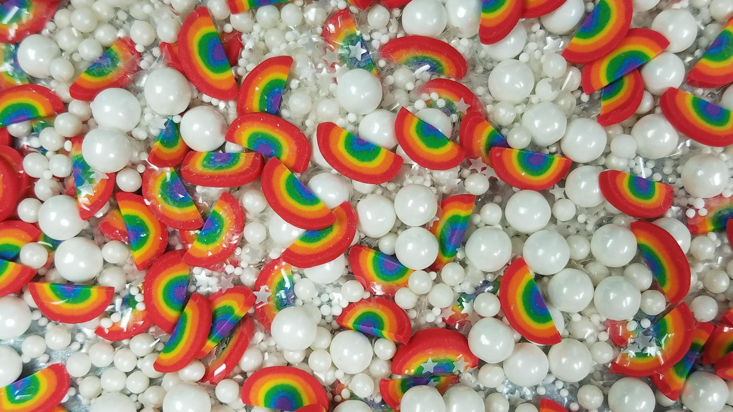 Rainbow Cloud Sprinkle Mix