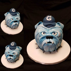Georgetown Bulldog Groom's Cake