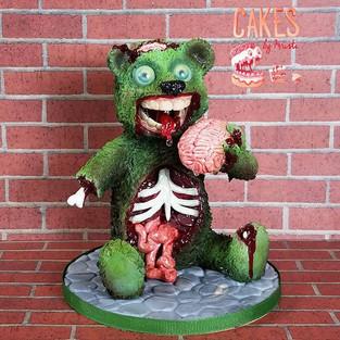 Zombie Bear Topper