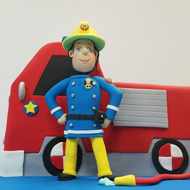 Check out this #FiremanSam figurine I go