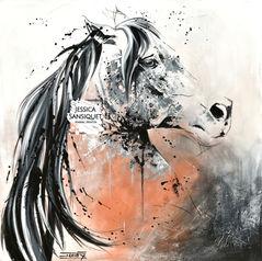 Buste équin