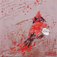 Quelques mots pour un cardinal rouge