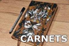 CARNETS PEINTS