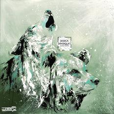 Le loup et l'ours totems