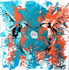 Des amours de colibris