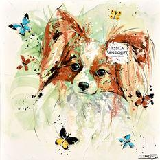 Le chien papillon